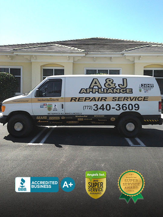 A & J Certified Appliance Repair Technicians